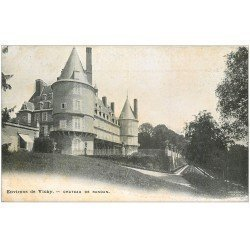 carte postale ancienne 03 RANDAN. Le Château. Staerck