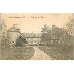 carte postale ancienne 03 SAINT-GERANS-DE-VAUX. Château du Parc