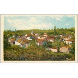 carte postale ancienne 01 LEYMENT. Vue du Village