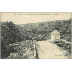 carte postale ancienne 23 ANZEME. Tournant du Belvédère