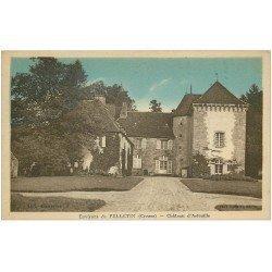 carte postale ancienne 23 ARFEUILLE. Le Château. Collection Bienarive