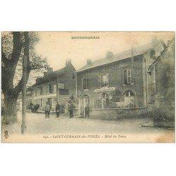 carte postale ancienne 03 SAINT-GERMAIN-DES-FOSSES. Hôtel des Postes