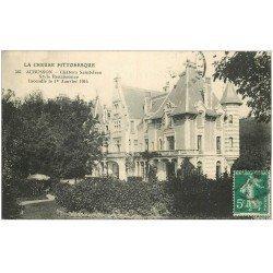 carte postale ancienne 23 AUBUSSON. Château Saint-Jean 1914