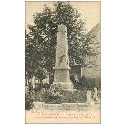 carte postale ancienne 03 SAINT-GERMAIN-DES-FOSSES. Monument aux Morts Guerre 14-18