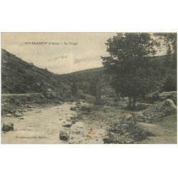 carte postale ancienne 23 BOURGANEUF. Le Verger 1919