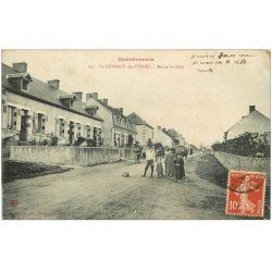 carte postale ancienne 03 SAINT-GERMAIN-DES-FOSSES. Route de Billy vers 1906