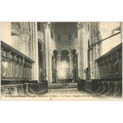 carte postale ancienne 23 CHAMBON-SUR-VOUEIZE. Eglise le Choeur