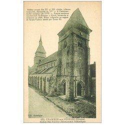carte postale ancienne 23 CHAMBON-SUR-VOUEIZE. Eglise Sainte-Valérie