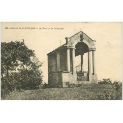 carte postale ancienne 03 SAINT-MARIEN. La Chapelle 1925