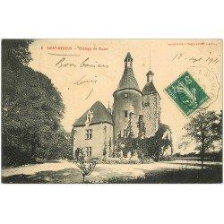 carte postale ancienne 03 SAINT-MENOUX. Château de Cluzor 1911