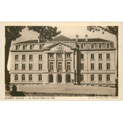 carte postale ancienne 23 GUERET. Hôtel de Ville