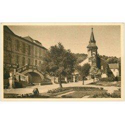 carte postale ancienne 23 GUERET. Jardin et Musée