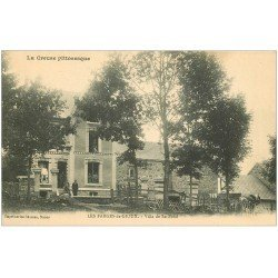 carte postale ancienne 23 LES FARGES-DE-GIOUX. Villa de La Fond