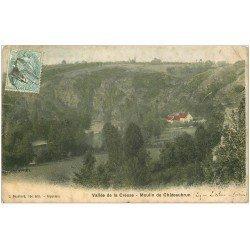 carte postale ancienne 23 MOULIN DE CHATEAUBRUN 1905