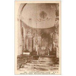 carte postale ancienne 23 TOULX-SAINTE-CROIX. L'Eglise