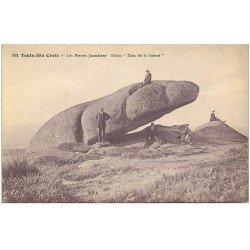 carte postale ancienne 23 TOULX-SAINTE-CROIX. Pierres Jaumâtres. Hésus