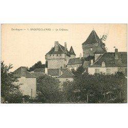 carte postale ancienne 24 BADEFOLS-D'ANS. Le Château