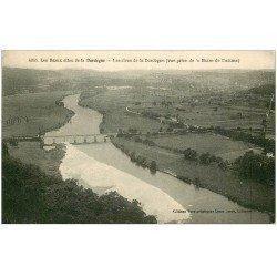 carte postale ancienne 24 BARRE DE DOMME