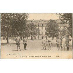 carte postale ancienne 24 BERGERAC. Militaires Caserne Chanzy