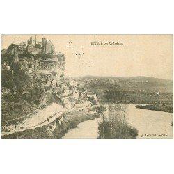 carte postale ancienne 24 BEYNAC en Sarladais 1905