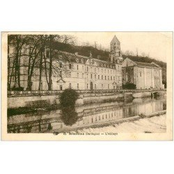 carte postale ancienne 24 BRANTOME. L'Abbaye vers 1930-40