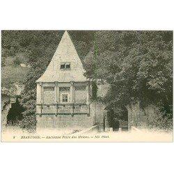 carte postale ancienne 24 BRANTOME. Porte des Moines