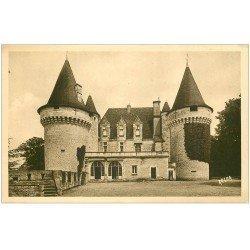 carte postale ancienne 24 CHATEAU DE BRIDOIRE