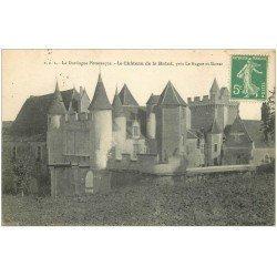 carte postale ancienne 24 CHATEAU DE LA BATUT 1916