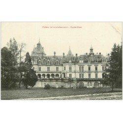 carte postale ancienne 24 CHATEAU DE LAROCHEBEAUCOURT. Façade Ouest