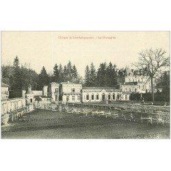 carte postale ancienne 24 CHATEAU DE LAROCHEBEAUCOURT. Les Orangeries
