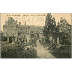 carte postale ancienne 24 CHATEAU DE SAUVEBOEUF n° 385