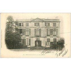 carte postale ancienne 24 CHATEAU DE SEPT-PONTS 1903