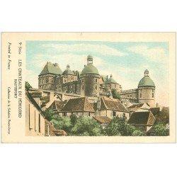 carte postale ancienne 24 Châteaux du Périgord. HAUTEFORT Collection de la Solution Pautauberge