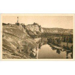 carte postale ancienne 24 CIRQUE DE MONTVALENT