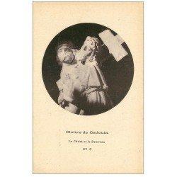 carte postale ancienne 24 CLOITRE DE CADOUIN. Christ et Bourreau