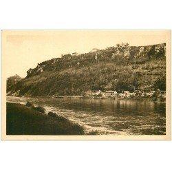 carte postale ancienne 24 DOMME. La Ville