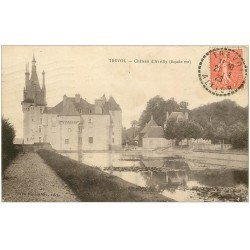 carte postale ancienne 03 TREVOL. Château d'Avrilly 1928