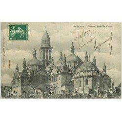 carte postale ancienne 24 PERIGUEUX. Cathédrale Saint-Front byzantine 1908