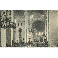 carte postale ancienne 24 PERIGUEUX. Cathédrale Saint-Front. La Nef