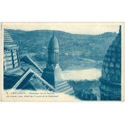 carte postale ancienne 24 PERIGUEUX. Coupoles de la Cathédrale 1927