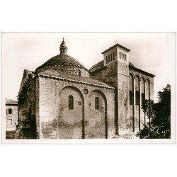 carte postale ancienne 24 PERIGUEUX. Eglise Saint-Etienne de la Cité. Carte Photo