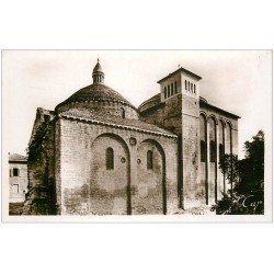 carte postale ancienne 24 PERIGUEUX. Eglise Saint-Etienne de la Cité. Carte Photo