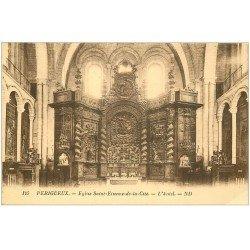 carte postale ancienne 24 PERIGUEUX. Eglise Saint-Etienne de la Cité. L'Autel
