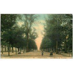 carte postale ancienne 24 PERIGUEUX. Les Allées de Tourny 1908