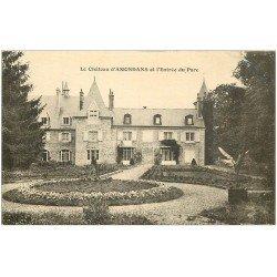carte postale ancienne 25 ANONDANS. Château et Parc