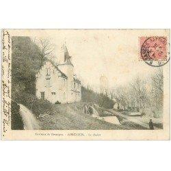 carte postale ancienne 25 ARCIER. Le Chalet 1904