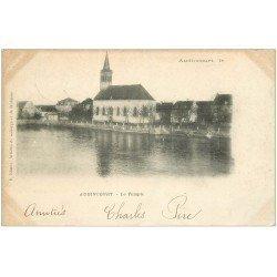 carte postale ancienne 25 AUDINCOURT. Le Temple 1905