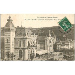 carte postale ancienne 25 BESANCON. Bains Salins Casino de la Mouillière 1908