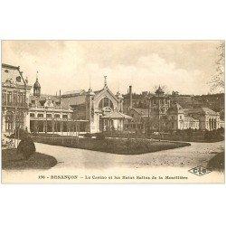 carte postale ancienne 25 BESANCON. Casino et Bains Salins de la Mouillière