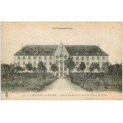 carte postale ancienne 03 VARENNES-sur-ALLIER. Ecole de Gendarmerie